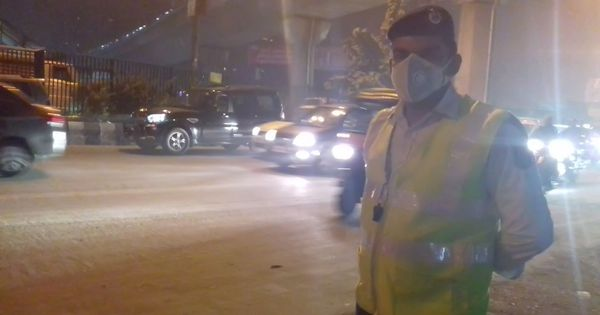 'I want my family safe': This traffic constable says he will never move his wife and child to Delhi