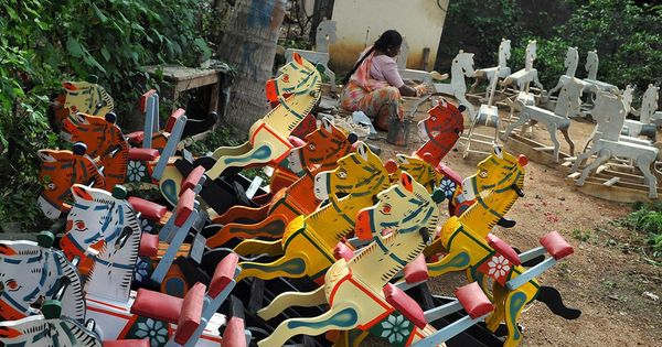 This Karnataka Village Has Been Making Wooden Toys Since