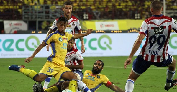 Indian Super League: Kerala Blasters and ATK play out goalless draw in Kochi