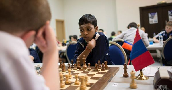 Chess: R Praggnanandhaa, 12, beats second GM in succession at world junior championship