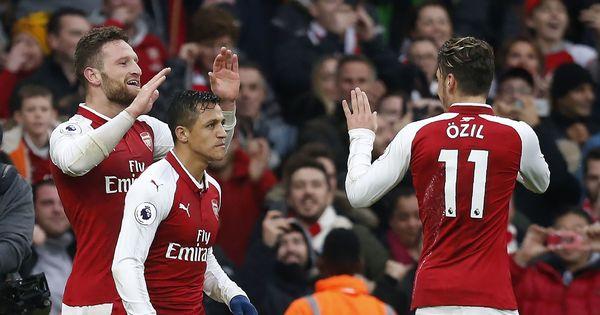 Premier League: Tottenham left fuming as controversial goals help Arsenal seize derby spoils