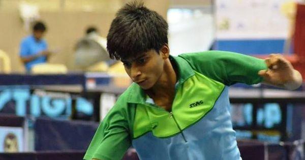 National ranking table tennis: Snehit upsets Manav Thakkar to clinch junior boys title