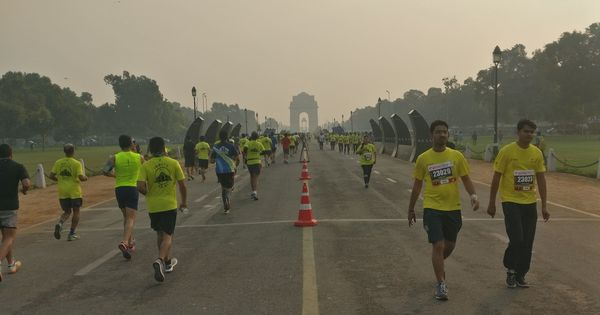 Delhi Half Marathon advanced to October 21 to avoid winter smog and pollution