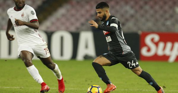 Seria A: Insigne put Italy World Cup blues behind to star in Napoli's win over AC Milan
