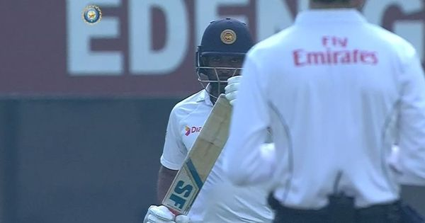 'Brain fade'? DRS controversy as Perera turns towards dressing room before reviewing