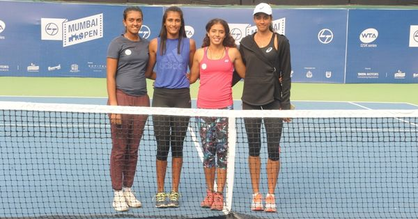 WTA Mumbai Open: Four Indians in main draw handed tough draws
