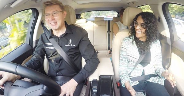 Watch: Mika Hakkinen takes a drive through Mumbai streets and talks all things Formula 1