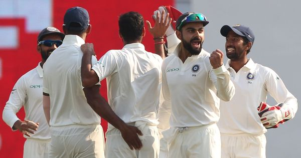 India vs SL, 1st Test, Day 5 live: Thrilling draw at Eden Gardens as bad light ends play