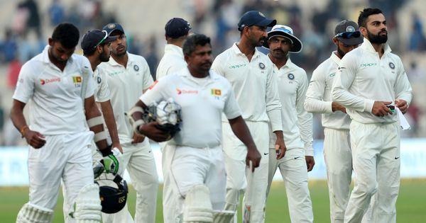 Kohli, Bhuvneshwar set up thrilling finish, but Sri Lanka hold on to earn draw in opening Test