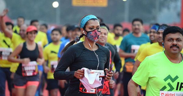 Video: Record participation at Delhi half-marathon but at what cost?