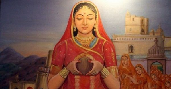 History lesson: Padmavati was driven to immolation by a Rajput prince, not Ala-ud-din Khalji