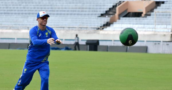 David Warner suffers neck injury during practice ahead of first Ashes Test