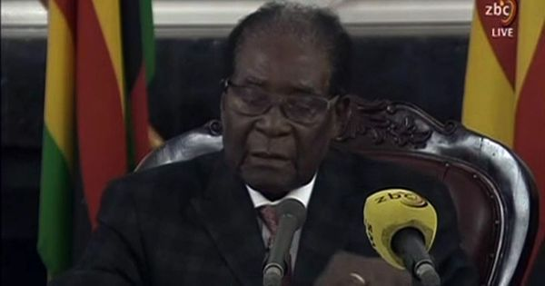 Zimbabwe Parliament begins impeachment proceedings against President Robert Mugabe