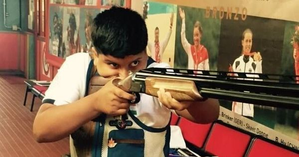 14-year-old Shardul Vihan bags four golds in single day at Shooting Nationals