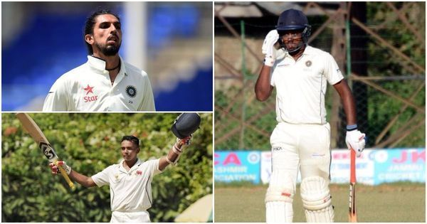 Ranji Trophy highlights: Ishant's fiery spell, Samson's rich form and Jaffer's vintage show