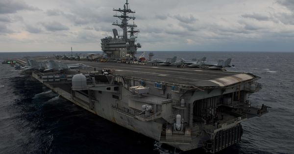 Eight rescued after US Navy aircraft crashes into Pacific Ocean, three still missing