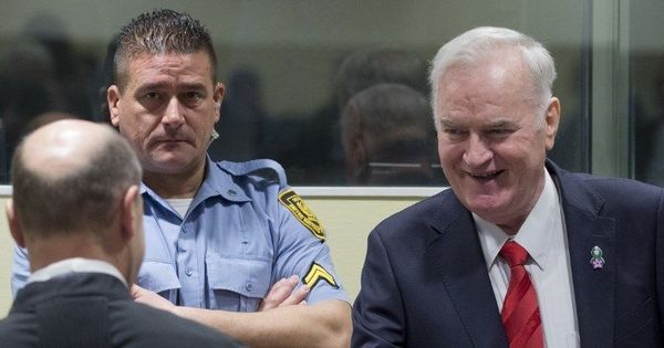 UN tribunal sentences 'Butcher of Bosnia' Ratko Mladic to life for genocide