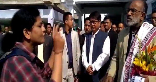 Watch: Passenger yells at Union minister KJ Alphons after flights are delayed at Imphal airport