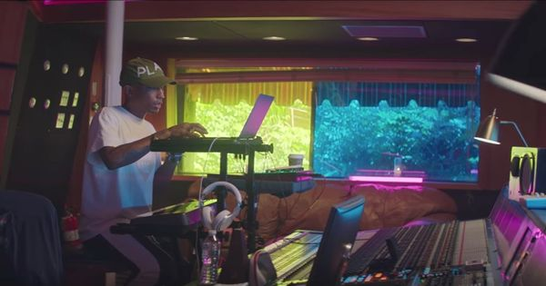 Watch: Pharrell Williams has recorded a new song, but none of us will ever hear it