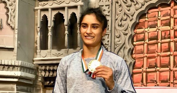 'I am mentally stronger now,' says national champ Vinesh Phogat, 15 months after Rio horror