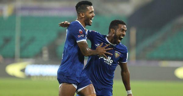 ISL: Chennaiyin FC thrash NorthEast United FC to win first home game