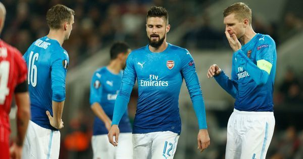 Europa League: Arsenal through to round of 32 despite losing to Cologne, Milan thrash Austria Vienna