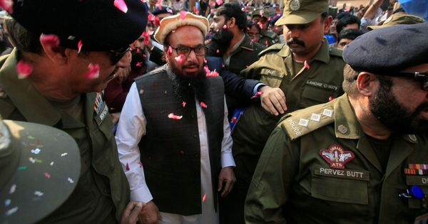 LeT founder Hafiz Saeed sentenced to five-and-a-half years' imprisonment in terror financing cases