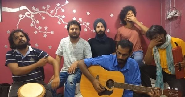 Watch: Sick of the state's apathy, a music group composed this parody about the smog in North India