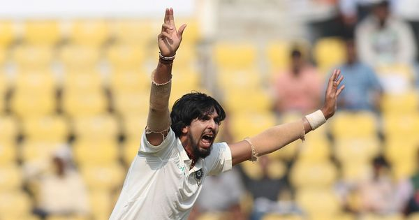 Back in India's whites after eight months, Ishant Sharma showed he deserves another run