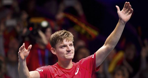 David Goffin gives Belgium upper hand in Davis Cup final against France