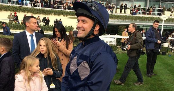 Former England striker Michael Owen finishes second on his debut as a jockey