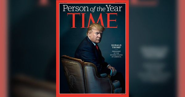 'Thanks anyway!': Trump's tweet about 'Time' magazine honour is fodder for parody