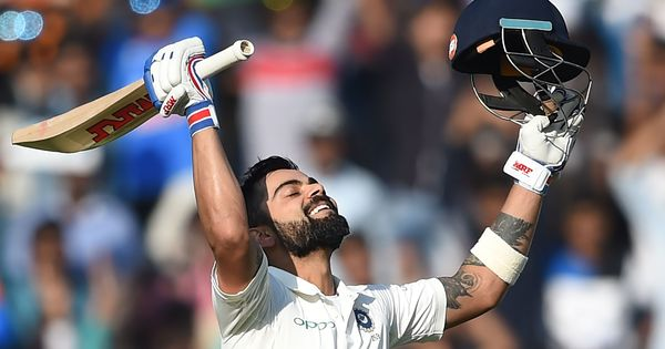 Virat Kohli is ICC's Cricketer of the Year for 2017
