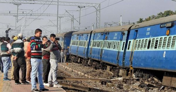 Senior railway officer suspended for Uttar Pradesh train derailment