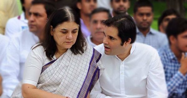 Lok Sabha polls: Maneka and Varun Gandhi's seats swapped in BJP's new list, Jaya Prada gets Rampur