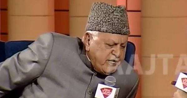 'Do you consider yourself an Indian?' Watch former J&K chief minister Farooq Abdullah's response