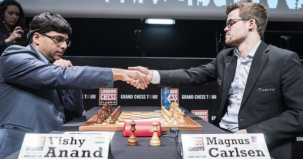 Chess: Anand pushes Carlsen to the brink in Tata Steel Masters before earning draw