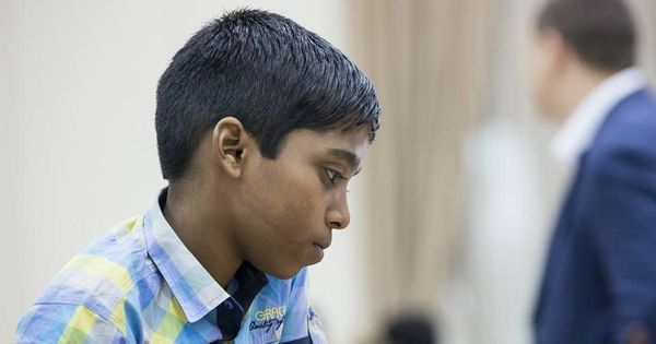 World Youth Chess C'ship: Praggnanandhaa wins against Iniyan, shares lead with Iran's Gholami