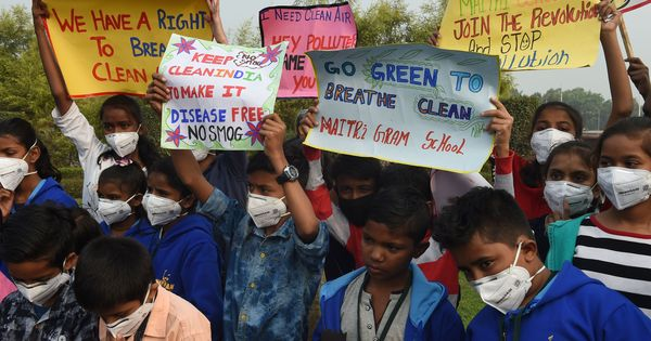 WHO study reveals 93% of children in the world under the age of 15 breathe polluted air