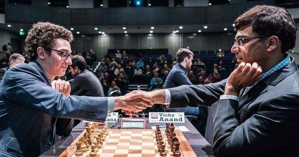 Viswanathan Anand beats Fabiano Caruana to take lead at Tata Masters tournament