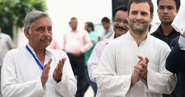 'एग्ज़िट पोल के हिसाब से मणिशंकर अय्यर सबसे आगे चल रहे हैं और राहुल गांधी लट्ठ लेकर उनके पीछे!'