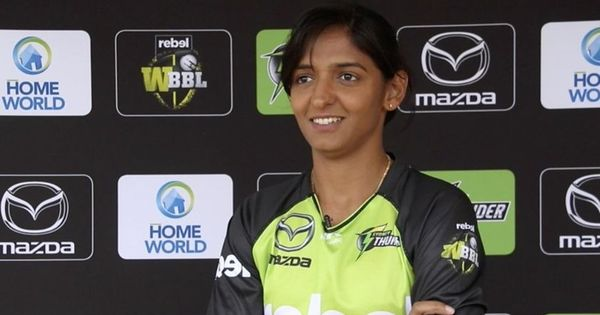Watch: Harmanpreet Kaur's brilliant catch for Sydney Thunder in the WBBL