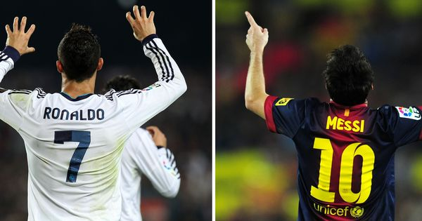 These two charts show just how Ronaldo and Messi have dominated world football