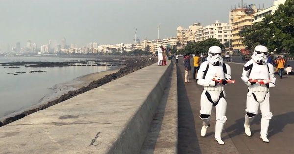 Stormtroopers from the Galatic Empire taking over Mumbai streets? Watch this video to find out why