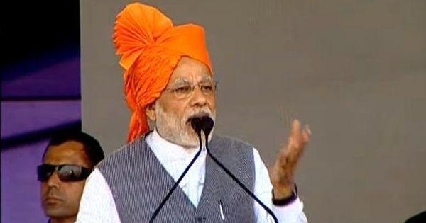 कांग्रेस और अकाल जुड़वां भाई हैं, जहां कांग्रेस जाएगी, वहां अकाल जाएगा : नरेंद्र मोदी