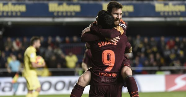 Suarez, Messi strike as Barcelona restore 5-point lead, Atletico Madrid bounce back