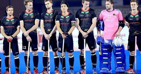 True grit: Despite losing 7 players to illness, Germany pushed India to the limit and won hearts