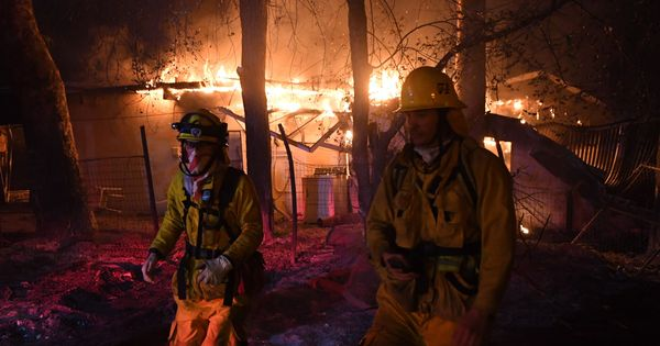 California fire damage to homes is less 'random' than it seems