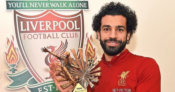 Liverpool's Mohamed Salah named BBC African player of the year