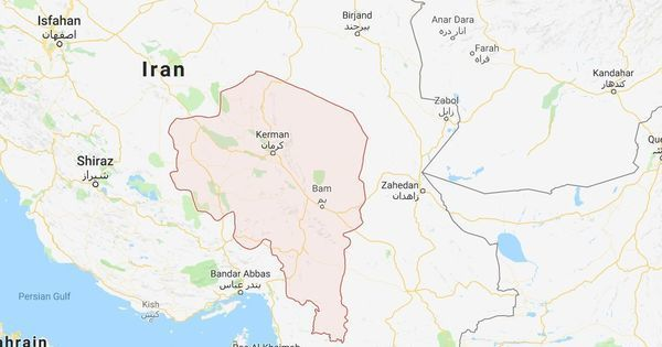 Iran: Earthquake of magnitude 6.2 jolts southeastern Kerman province